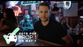 Join Taylor Kitsch in Voting for Prop 1