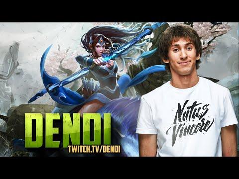 Dota 2 Stream: Na`Vi Dendi - Mirana (Gameplay)