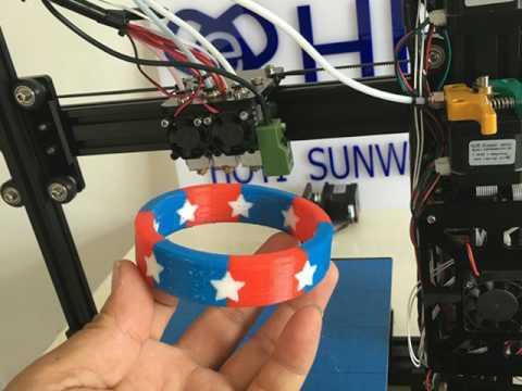 HE3D      EI3-Tricolor DIY 3D Printer kit Triple Extruder