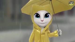 Cham Cham Video Song  BAAGHI Talking Tom And Angela Version.mp4