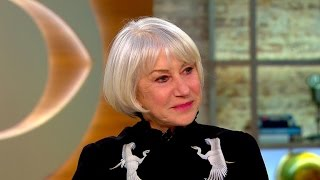 Acclaimed actress Helen Mirren on new movie,