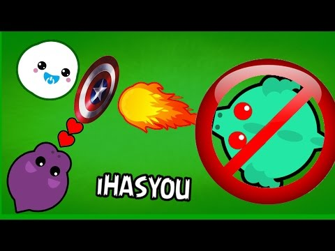 TOUGHEST SNOWBALL CHALLENGE EVER PROTECT THE BABY Mope.io iHASYOU