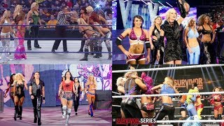 Top 8 WWE Womens Survivor Series Elimination Matches