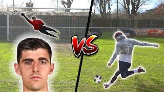 F2 SHOOTING VS COURTOIS!!! 💥⚽️🥅