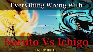 Everything Wrong With ScrewAttack's Naruto Vs Ichigo Death Battle