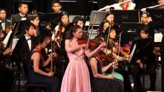 Concerto in D Minor for Violin, J. Sibelius - Troy Symphony Orchestra, Concerto Concert, 5/22/14