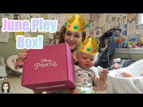 Xxx Mp4 June Disney Pley Box Reborn Toddler Opens Disney Princess Subscription Box Kelli Maple 3gp Sex