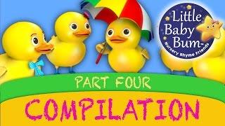Five Little Ducks And More Nursery Rhyme Videos from LittleBabyBum!
