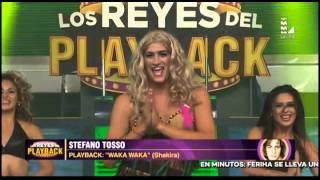 Stefano Tosso se vistió de Shakira y nos dejó este playback