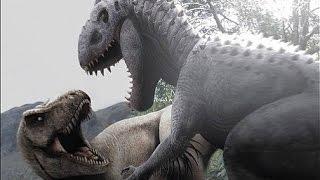Jurassic World T-Rex vs. Indominus Rex - What If The Indominus Wins