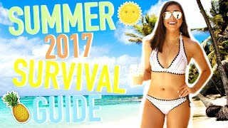 Summer 2017: Essentials, Outfits, & Favorite Bikinis!