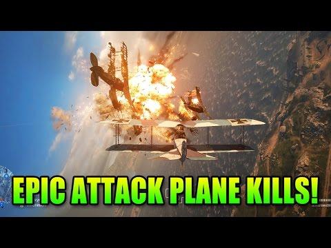 watch Battlefield 1 Epic Attack Plane Kills   BF1 Gameplay