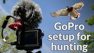 How to GoPro setup for duck hunting