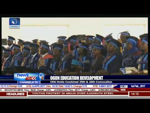 OOU Holds Combined 25th & 26th Convocation