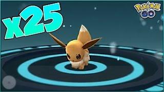 WHAT HAPPENS IF YOU POWER UP EEVEE 25 TIMES In Pokemon Go?! GENERATION 2 EEVEE & MORE EEVEELUTIONS?!