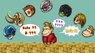 ◉ Army3 - Khỉ vàng 1x cân khỉ 2x và team avenger level 2x : cap,thor,hulk,hawk,loki,...◉
