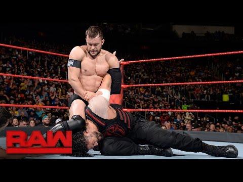 Roman Reigns vs. Finn Bálor: Raw, May 15, 2017