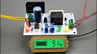How to make 12V Automatic Battery Charger using 555  IC
