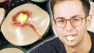 People Try Pimple Cupcakes