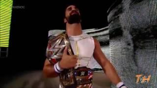 John Cena vs Seth Rollins Night of Champions highlights
