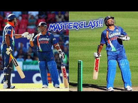 Sachin and Yuvraj MASTERCLASS Partnership Breathtaking Magical Shots Bowlers Punished in Style