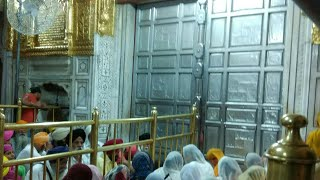 Golden Temple Amritsar, View of Inside Golden Temple,Opening of Kiwad Sahib