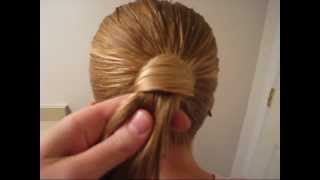 Hair Wrapped Ponytail | Tips & Tricks | BabesInHairland.com