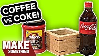 Wood Staining: Coca Cola vs Coffee