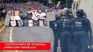 Miles de militares resguardarán Constituyente en Venezuela (Operación República)