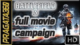 Battlefield 3 I Full Movie I Campaign Walkthrough [Hard] [HD]