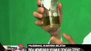 Siswa SMA di Palembang ciptakan spay anti nyamuk dari kulit kayu pohon duku - iNews Pagi 10/02