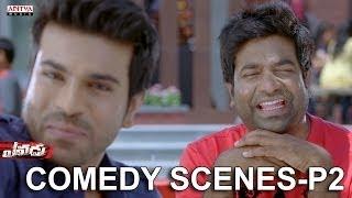 Yevadu Movie Back To Back Comedy Scenes P2 - Ram Charan Tej, Sruthi Haasan, Brahmanandam