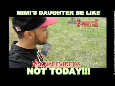 Aye ain't you Mimi's daughter