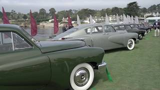 Tuckers at the 2018 Pebble Beach Concours d