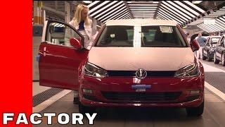 2017 VW Golf Production Factory Plant