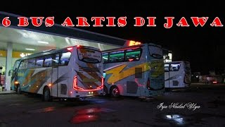 6 BUS ARTIS JAWA di Indonesia, Nomor 1 dan 6 Paling Istimewa Menurut Saya