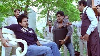 Attarintiki Daredi Comedy Scenes ||  Ali Order To Pawan Kalyan For Cigarette