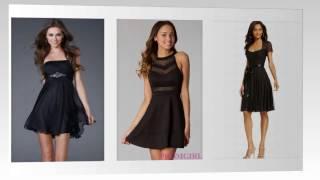 Top 100 black cocktail dresses, sexy black dresses for women