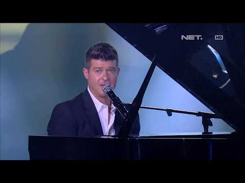 Robin Thicke - Sweetest Love - LIVE from NET 4.0 presents Indonesian Choice Awards 2017 mp3