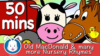 Old MacDonald Had A Farm & More Nursery Rhymes with lyrics