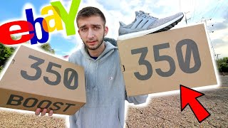 I SPENT $2,000 ON YEEZYS FROM EBAY! 😱 ARE THESE WORTH IT?