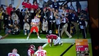 Game Winning TD at 2017 National Championship! Clemson vs Alabama