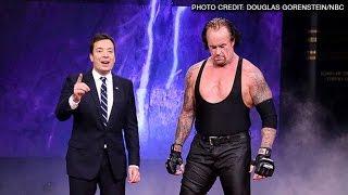 Undertaker on Jimmy Fallon Tonight Show