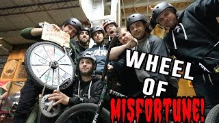 THE WHEEL OF MISFORTUNE IS BACK!