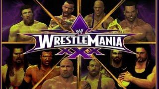 WWE 2K14: Wrestlemania 30 (Custom Matches & Promos) - Part 1