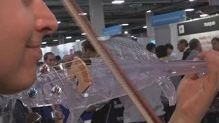 ویلن پلاستیک ساخت چاپگر سه بعدی، ابزار جدید موسیقی