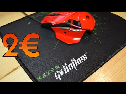 UNBOXING RAZER GOLIATHUS A -2€ ! - FR Full HD