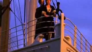 Titanic fly scene