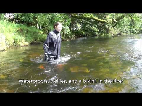 Rainwear in the river British Summer Beachwear 2012 The Trailer