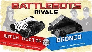 Hexbug Battlebots Rivals: Witch Doctor and Bronco Review